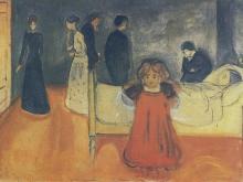 3737_50х29_Эдвард Мунк - la mre morte et lenfant, 1897-1899