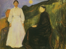 3782_50х42 Эдвард Мунк -mre et fille, 1897