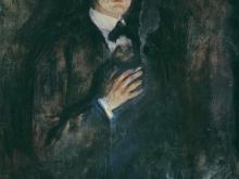 3791_60х46_Эдвард Мунк -autportrait la cigarette, 1895