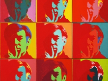 3832_50х50 Энди Уорхол - Автопортрет, 1967