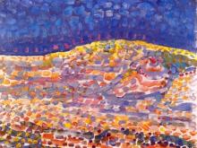 3659_50х39 Пит Мондриан -Mondrian  Dune II, 1909