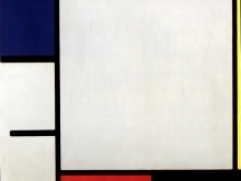 3682_60х51 Пит Мондриан - Composition avec rouge, jaune et bleu, 1922