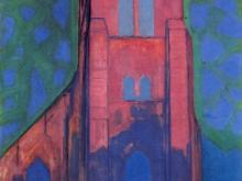 3691_60х39 Пит Мондриан -Церковь в Домбург