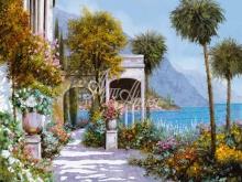 Л160_100х120_Гвидо Борелли - Летний пейзаж 2