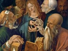 1936_100х125_Альбрехт Дюрер - Иисус среди докторов