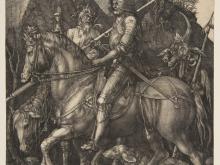 1937_80х62_Альбрехт Дюрер - Рыцарь, смерть и дьявол