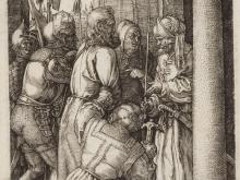1943_110х72_Альбрехт Дюрер - Иисус и Пилат