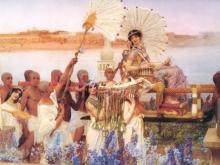 1314_50х34_Л. Альма-Тадема - Обнаружение Моисея
