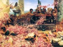 1322_65х42_Л. Альма-Тадема - Розы Гелиогабала