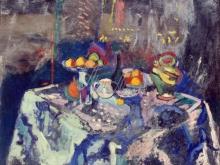 1687_50х40_А. Матисс  - Ваза, бутылка и фрукты