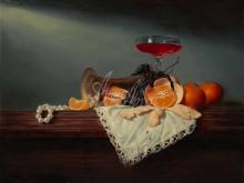 3405_60х45_А.Н.Антонов - Натюрморт с мандаринами