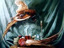 3414_60х54_А.Н.Антонов - Натюрморт с фазанами
