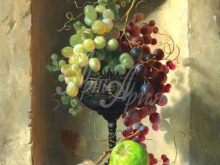 3432_70х54_А.Н.Антонов - Натюрморт с виноградом в чаше