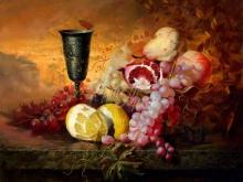 3434_70х56_А. Н. Антонов - Натюрморт с фруктами