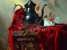 3440_70х58_А.Н.Антонов - Натюрморт на красном