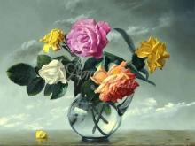 3449_80х80_А.Н.Антонов - Букет роз
