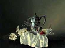 3460_90х75_А.Н.Антонов - Натюрморт с чайником