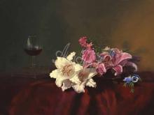 3463_100х67_А.Н.Антонов - Натюрморт с орхидеями