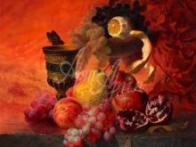 3466_100х83_А.Н.Антонов - Натюрморт с фруктами