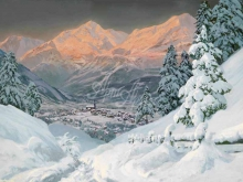 3565_60х45_А. Арнеггер_Альпийские горы