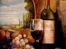 Вино 50x60 Алекс Гебель Холст. Масло. 40 300 руб.