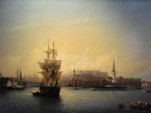 2485_80х51_А.П. Боголюбов - Таллин. Порт.1853г