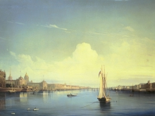 2486_60х41_А.П. Боголюбов - Санкт - Петербург.1850г