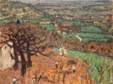 1750_40х32_П. Боннар_Пейзаж в Дофине