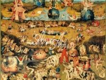 1010_80x75 Босх И - Сад земных наслаждений (центральная часть триптиха)