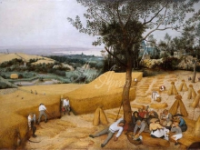 1571__90х66_П. Брейгель (старший) - Сбор урожая