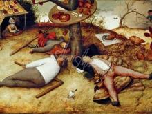 1572_100х66_П. Брейгель (Старший)- Страна лентяев