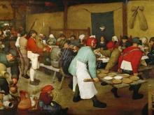 1573_100х70_П. Брейгель (Старший)- Крестьянская свадьба