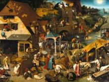1574_100х71_П. Брейгель (Старший) - Фламандские пословицы