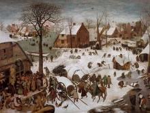 1575_110х78_П. Брейгель (Старший)- Перепись в Вифлееме
