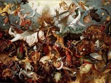1579_120х87_П. Брейгель (Старший)- Падение мятежных ангелов