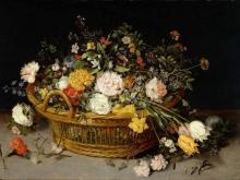 1598_80х57_Ян Брейгель(младший) -  Корзина цветов