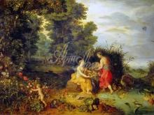 1604_90х55_Ян Брейгель(младший) - Аллегория земли и воды