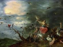 1605_100х61_Ян Брейгель(младший) - Аллегория воздуха