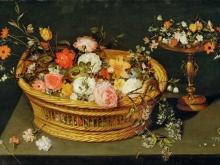 1608_100х68_Ян Брейгель(младший) - Натюрморт с цветами