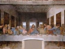 1238_71х40 Леонардо да Винчи - Тайная Вечеря
