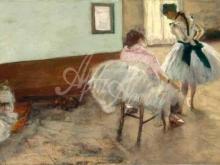 1773_80х34_Э. Дега - Урок танца