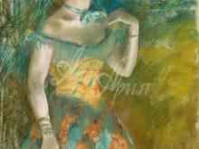 1780_80х61_Э. Дега - Певица в зеленом