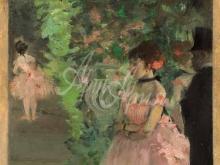 1781_80х61_Э. Дега - Танцовщицы за кулисами