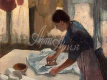 1787_80х64_Э. Дега - Женщина гладит бельё