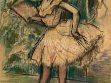 1795_80х70_Э. Дега - Танцовщица с веером