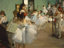 1796_80х74_Э. Дега - Танцевальный класс