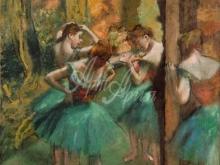 1797_90х83_Э. Дега - Танцовщицы в розовом и зеленом