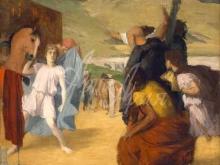 1798_100х75_Э. Дега - Александр и Буцефал