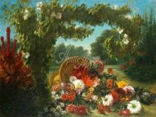 1802_90х67_Э. Делакруа - Корзина цветов