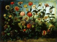 1809_55х41_Э. Делакруа - Цветы